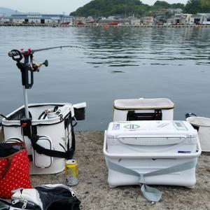 北茨城で団子釣り。
