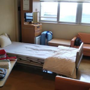 手術代より、部屋代の方が高かった入院。