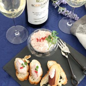 高品質なイタリア白ワインが主役。