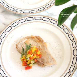 豚肉のソテー さっぱり夏野菜のピクルスソース