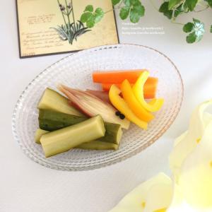 夏野菜の白ワインピクルス