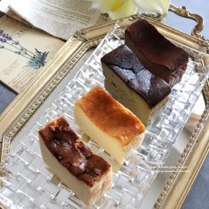チーズファンのための4種のバスクチーズケーキ<チーズ家クヴェレ>