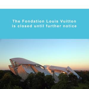 ♡フランス ルイヴィトン博物館やホテルからのメール♡