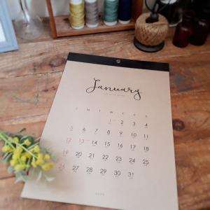 【キャンドゥ】来年のカレンダーと絶品ケーキ
