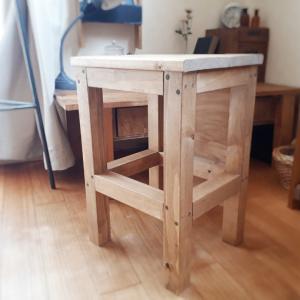 【おうちDIY教室】木工室のイスとおしりのここち❤