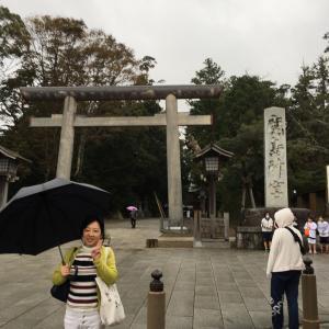 鹿島神宮三度目の参拝と 水害につきタオル募集。