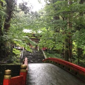 涼しげな花園神社とお盆の日常?