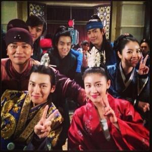 231** ハ・ジウォン『奇皇后』オフショット