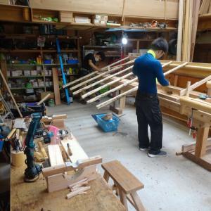 掛込天井と面戸板