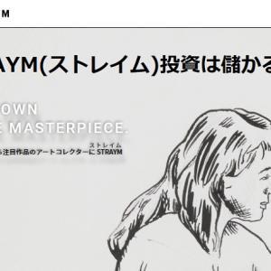 【アート投資】STRAYM(ストレイム)でアート作品に投資するメリットデメリットに呆然!