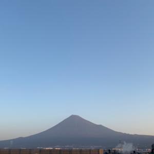 週刊あさ富士|Weekly Morning Mt. Fuji 11/16〜