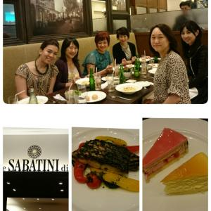 銀座サロン、夕食会