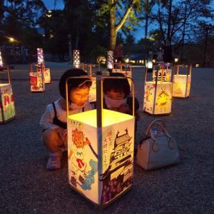 松江水燈路2020の表彰式。