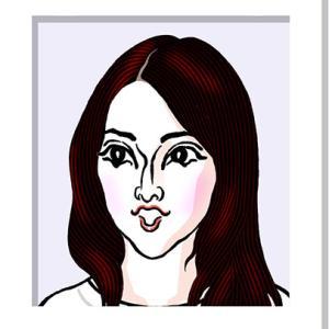 戸田恵梨香さんの似顔絵