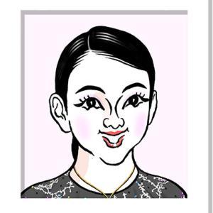 紀平梨花さんの似顔絵