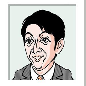 篠井英介さんの似顔絵