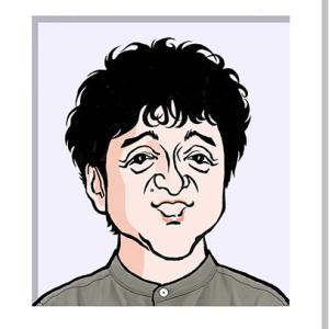 ムロツヨシさんの似顔絵