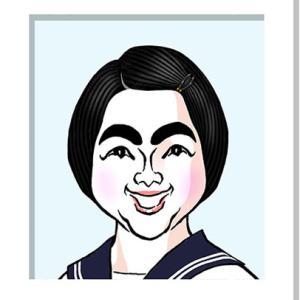 イモトアヤコさんの似顔絵