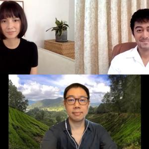 阿部寛ら日本x台湾xマレーシアを結ぶ「夕霧花園」オンライン舞台挨拶