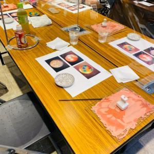第三回丸善・現代加賀九谷焼作家展 宮本先生の九谷焼絵付け体験