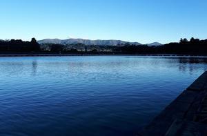 初‼東山湖のオープンに!