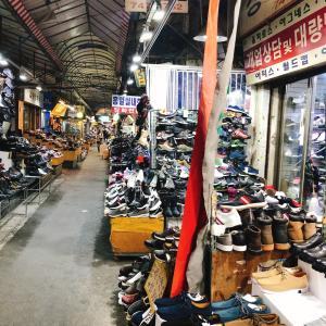 ようやく見つけた!!東大門靴卸市場でナンチャッテスリッパw