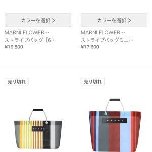 かわいいマルニのストライプバッグもNPHだったらこうなります(笑)
