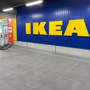 久しぶりにIKEAに行って新しいエコバッグ仕入れて来た!!