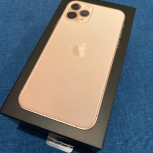 iPhone11 pro を購入して1ヶ月使ってみた感想。