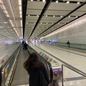 こんなに人のいない香港、初めて見た。