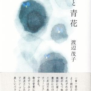 渡辺茂子・歌集「湖と青花」を読む