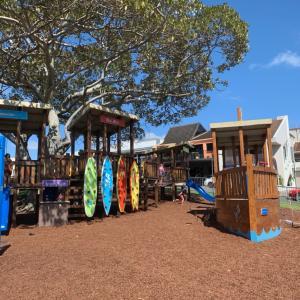 Muffat ビーチの公園