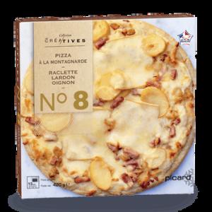 今週のPicard冷凍食品:ラクレットチーズのピザ
