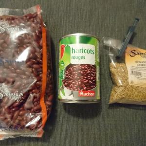 お正月の小豆ご飯とPierre Chanauのアルザスワイン