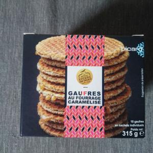 ピカールで買えるお菓子:ストロープワッフル