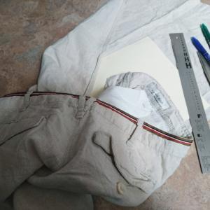 手縫いのフランス風マスク(5枚目)と不思議な現象