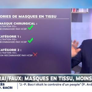 フランスで布マスクよりサージカルマスク推奨