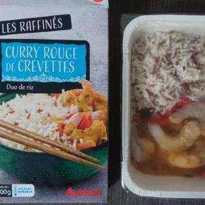 フランスのスーパーAuchanの冷凍カレー