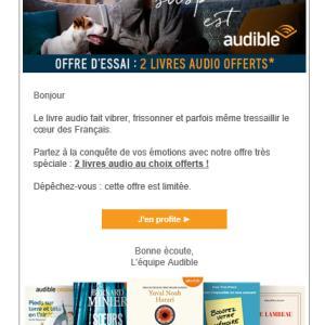 Audibleのオーディオブックでフランス語を無料で学ぶ方法④