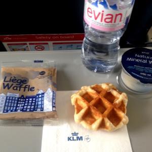 KLMオランダ航空の機内食:2019年春