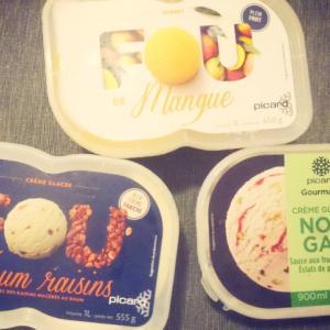 今週のPicard冷凍食品:大人味の辛口アイスクリーム