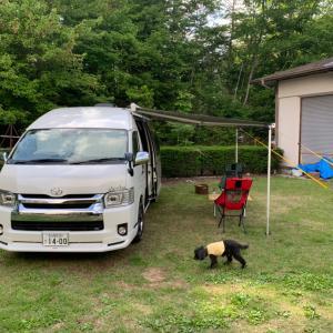 蜜を避けパラダイスで犬連れキャンプをして来た。2