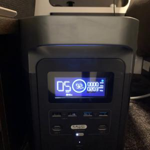 EFDELTAを車内の外部電源ソケットに繋ぎアルコーバの電源にしてみた!