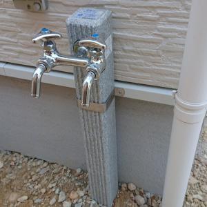 外部水栓はしっかり確認しましょう・・・!!