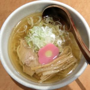 和だしらぁめん うめきち@札幌市中央区 「煮干しらぁめん」