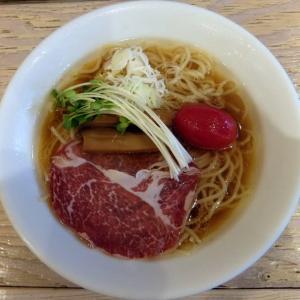 【限定】冷たい煮干し中華そば(醤油)@中華そば スパンキー