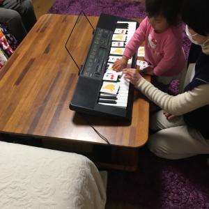 3才リトミック ピアノレッスン♪