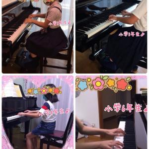 小学生ピアノレッスン♪