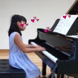 年中さんピアノレッスン