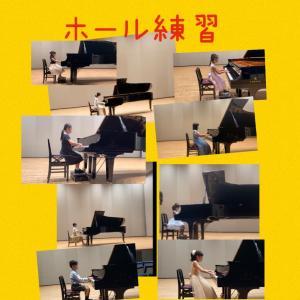 広島南区民文化センターでホール練習〜動画あり